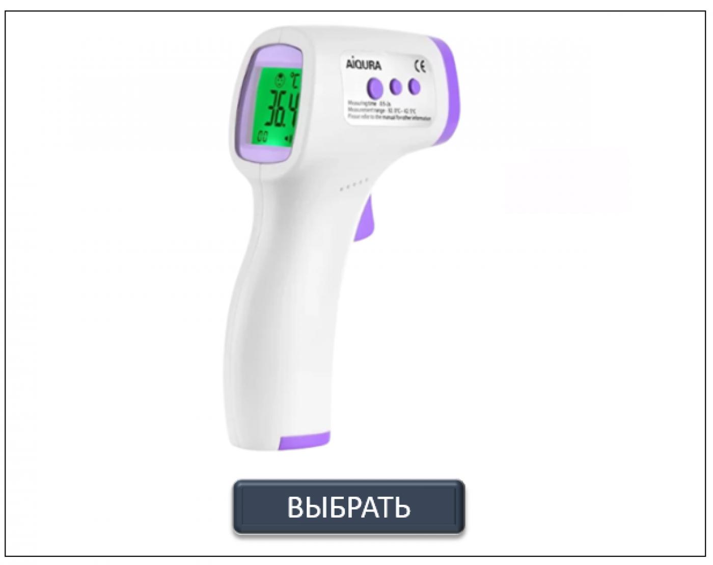 Бесконтактный термометр опт 2020